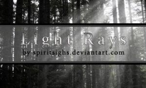 Light Rays Stamps by spiritsighs-stock