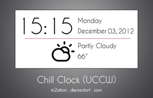 Chill Clock (UCCW) by In2uition