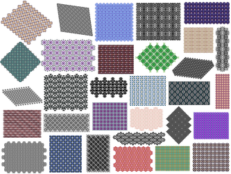 Pattern Pack 13 by Ahborson