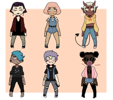 batch of cuties [1/6 open] by Bitsadopts