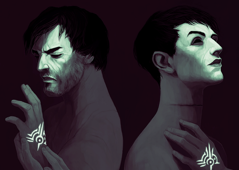 Dishonored: This is my mark by coupleofkooks