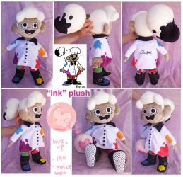 Ink plush doll by scilk