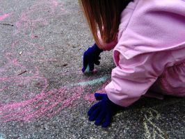 Sidewalk chalk by after-the-party