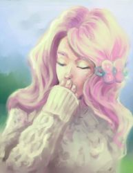 Fluttershy by Swallowchaser