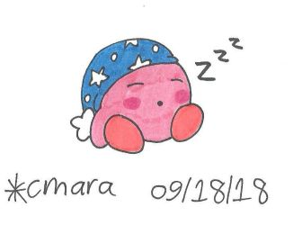 Kirby go sleepy by cmara