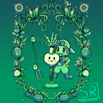 Fruit of the Harvest Moon - Shirt design by SarahRichford