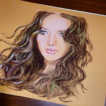 Wip - Soft Pastels by UtiliaMignano