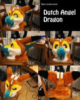 My first dutch angel fursuit by Maria-M--aka--Bakura