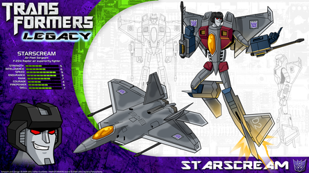 Transformers Legacy: Starscream by CyRaptor