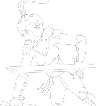 Lynn Battle ready WIP by DracoSwoordMaster123