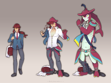 Commission: Prince Sidon transformation by Zellie669-commishes