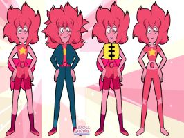 Pink Pearl Costumes 2 by SfCabanas15