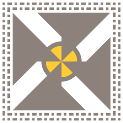 Banner of the Metallurgists' Idyll by Pseudocompsognathus