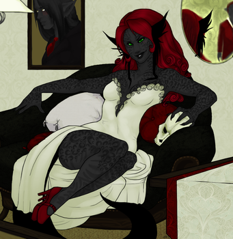 The Devil Wears White. by crunkthum