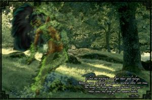 Fairy became a tree ent, finis by Enkida