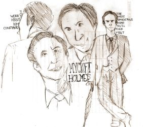 Mycroft sketches by pandamari