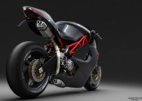 Magnum Bike Concept by fractalife