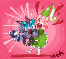 PKMNC - Cutest Dragon In Town by TamarinFrog