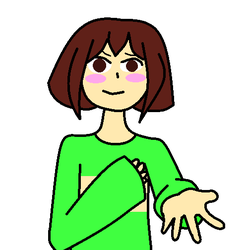 Chara by purplebunnygirl