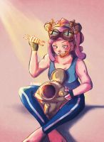 Mei Hatsume by poodled