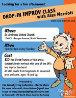 CFC Improv Workshop flyer by mct421