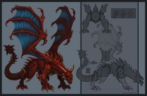 Red Dragon by KhezuG
