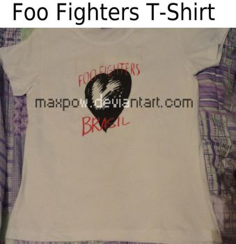 Foo Fighters T Shirt Complete by Maxpow