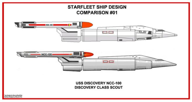 Starship Design Comparsion 1 by SR71ABCD