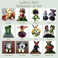 2013 Art Summary by LeiliaClay