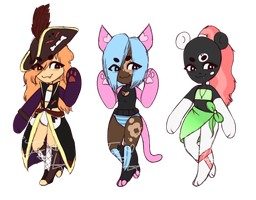Humaniod Adopts! 1 LEFT  //open by JustGoldyLocks