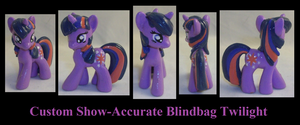 Show-Accurate Twilight Sparkle by Gryphyn-Bloodheart