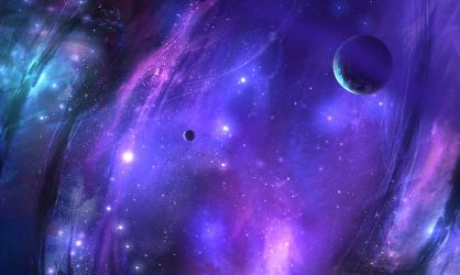 Celestial Abstract Image 01 by ANTIFAN-REAL