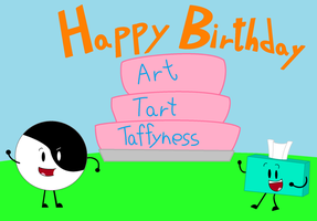 A Gift for Art-Tart-Tafftness by thecrazyworldofjack