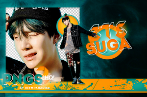 BTS Suga PNG PACK #1 by Inmyparadise