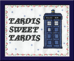 TARDIS SWEET TARDIS by Gazelle1583