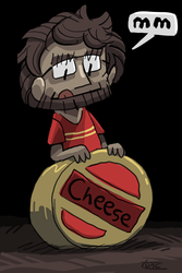 Cheese by kittyninjafish