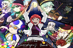 Touhou Project Amino - The Lorelyouji Band by InfernoWizard