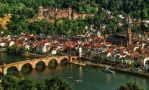 Castle Ruins and Old Bridge in Heidelberg by pingallery