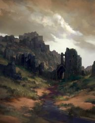 Black Fortress ruins by dusint