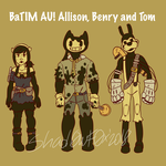 .::BaTIM AU!Benry Allison Tom::. by TheShad0wF0x