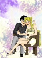 Sailor Moon: Usagi x Mamoru by FaisanSama