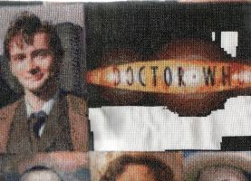 10 and Doctor Who Logo by salford1