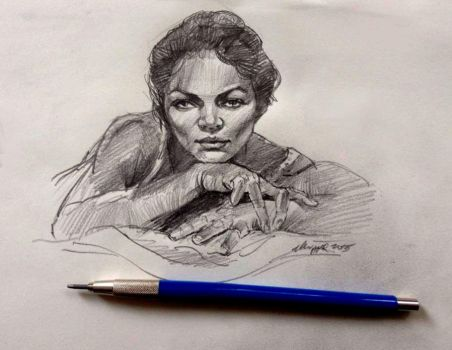 Pencil Sketch Deviantart