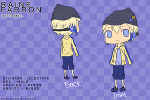 .:Ref Sheet:. Raine Farron by youcchi