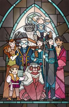 Vox Machina by JoannaJohnen
