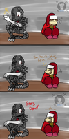 Hey Ned (FNAF Comic Short) by Blustreakgirl