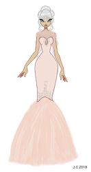 AT - Vanille gown (re-done) by HeartStorm4ever