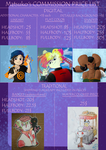 Commission Price List Sheet by pokejustine001
