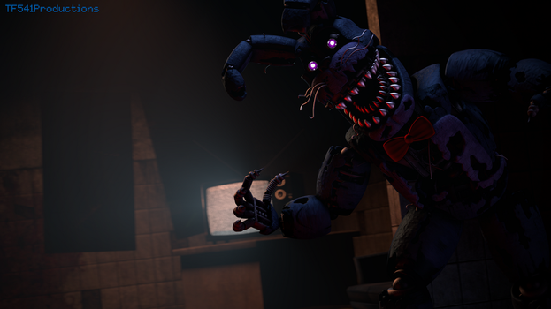 Nightmare Bonnie by TF541Productions