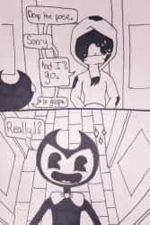 BATIM and Cuphead: New Friends Pt1: Pg3 by jellyb3an3